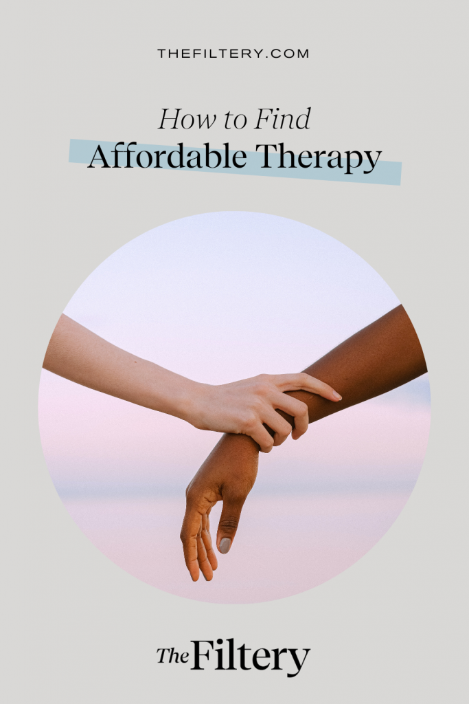 how to find affordable therapy