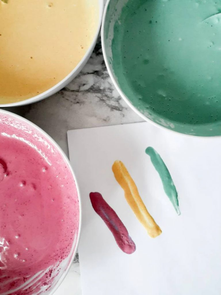 best-non-toxic-plant-based-DIY-finger-paint-for-kids-junebug-essentials-the-filtery