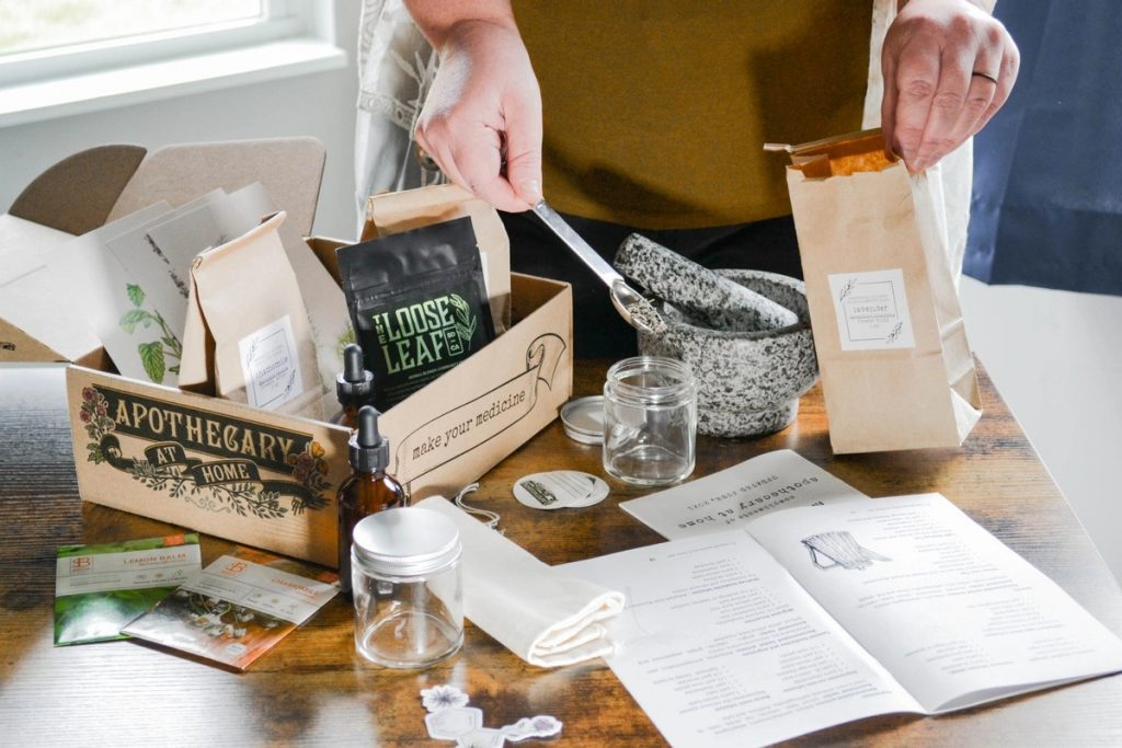 organic-gifts-for-her-for-plant-lovers-herbalist-apothecary-at-home-subscription-box-the-filtery