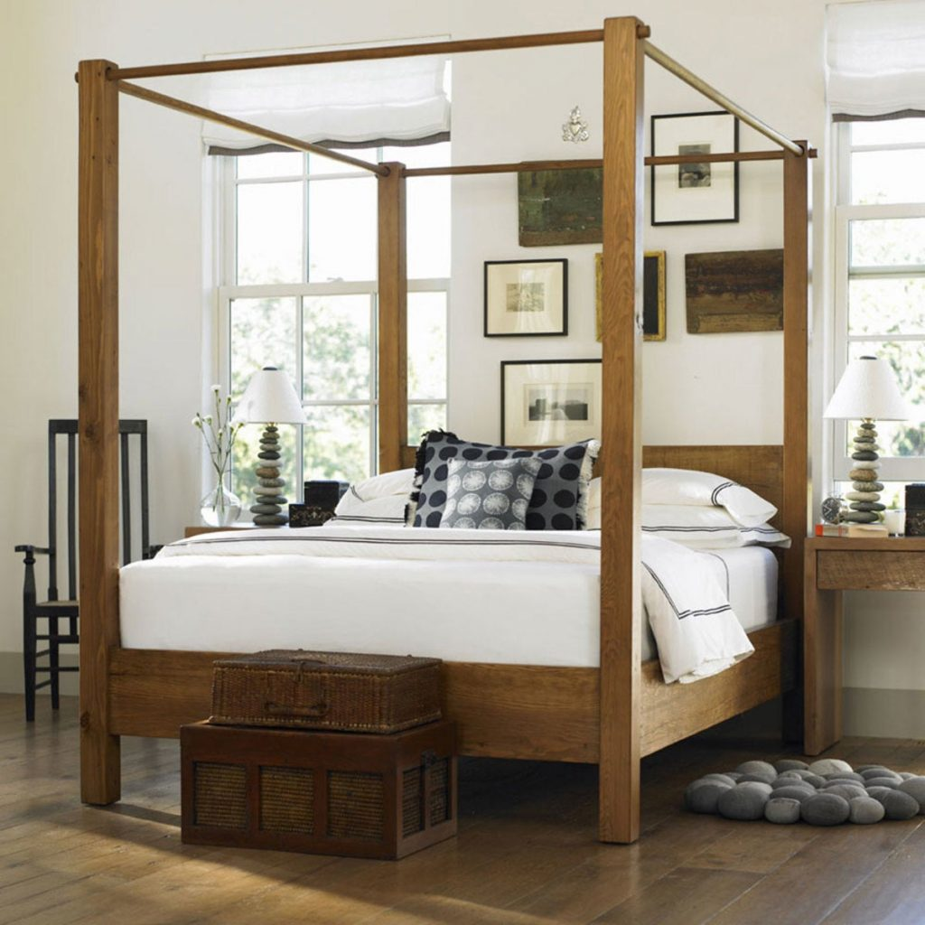 non-toxic-natural-wood-canopy-bed-frame-vivaterra-the-filtery